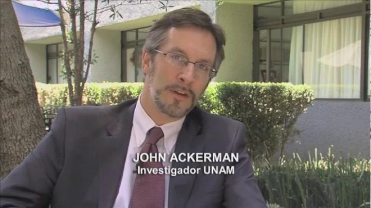 Aniversario: John Ackerman
