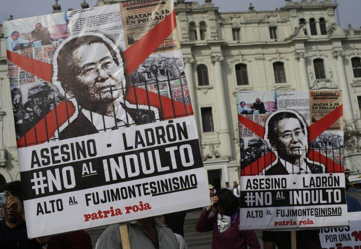 Kuczynski otorga indulto a Fujimori
