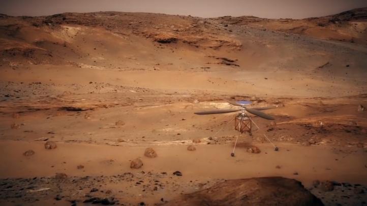 NASA afina diseño de helicóptero que explorará Marte