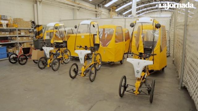 Trici-taxis eléctricos pronto estarán disponibles