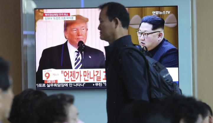Trump cancela cumbre con el líder norcoreano Kim Jong Un