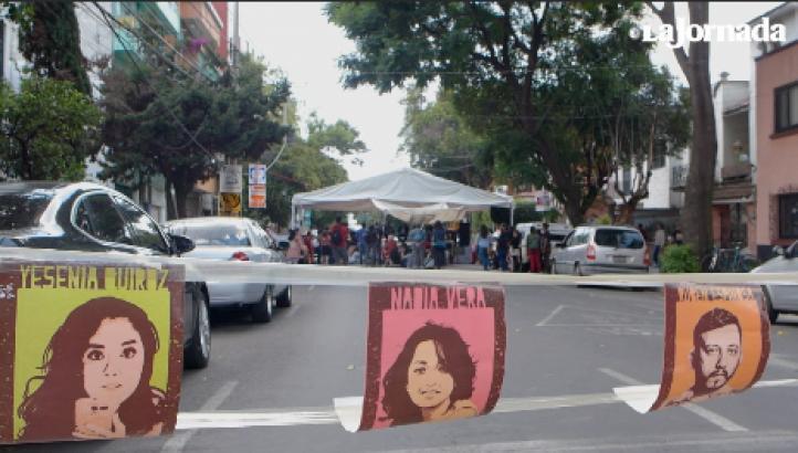 Justicia, exigen a dos años del multihomicidio de la Narvarte