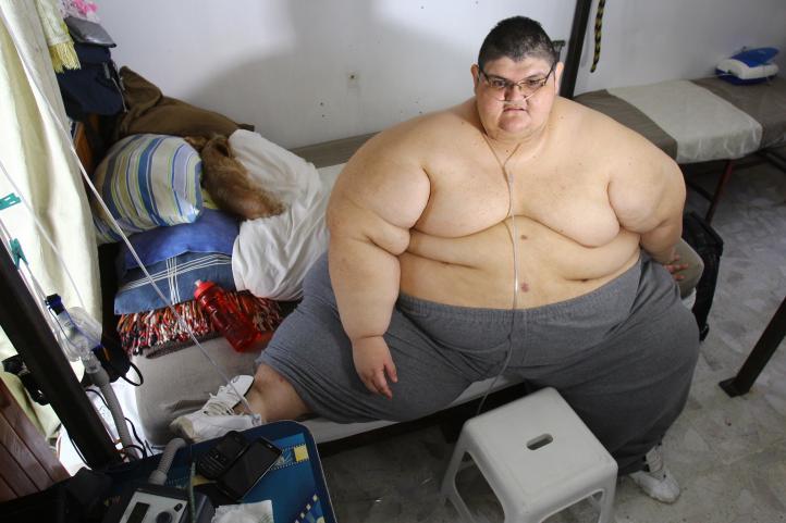 Juan Pedro perdió más de 200 kilos