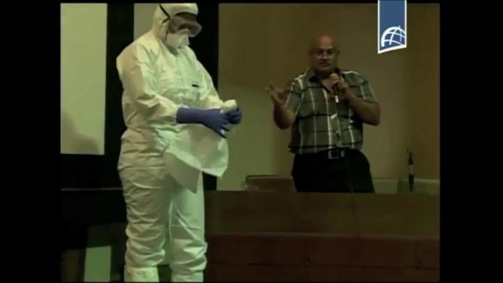 Equipo médico cubano se prepara para combatir ébola en África