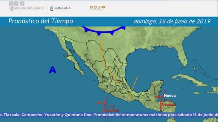 Pronóstico del tiempo para el 15 y 16 de junio de 2019