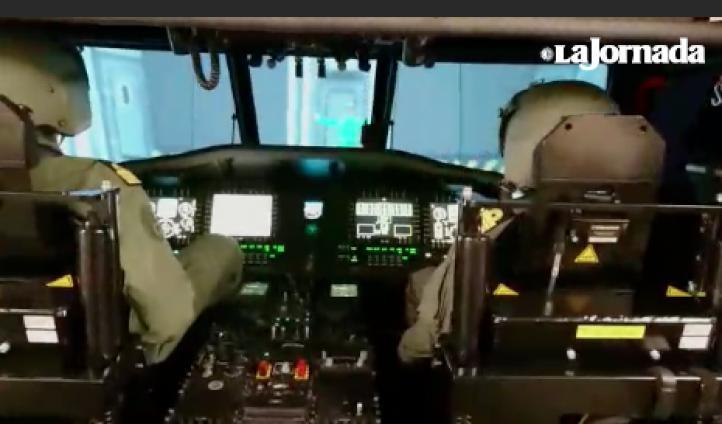 Con simuladores, pilotos de la Marina se entrenan para emergencias