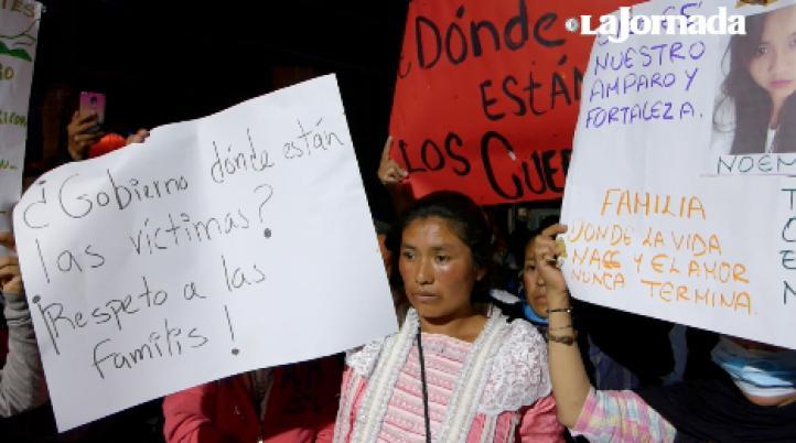 En Álvaro Obregón 286 exigen que les entreguen al menos los cuerpos