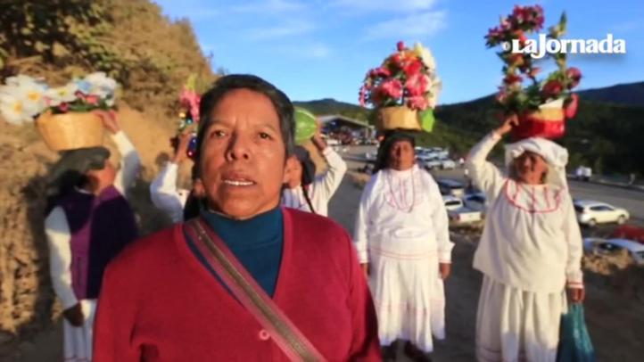 Habitantes de Oaxaca plantean demandas a AMLO