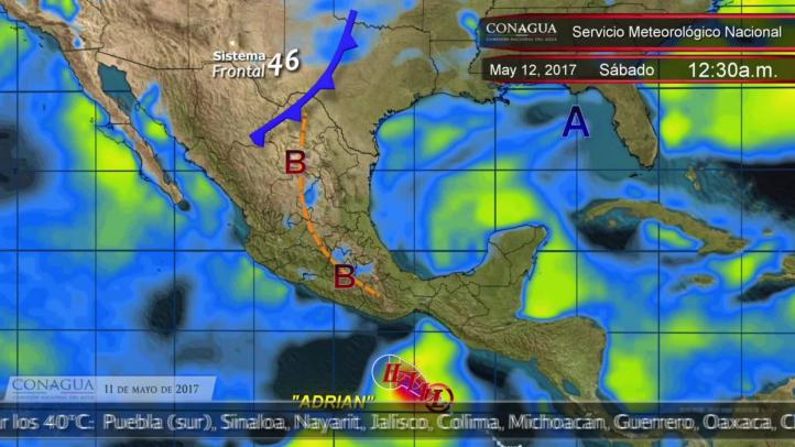 Pronóstico del tiempo para el 11 de mayo