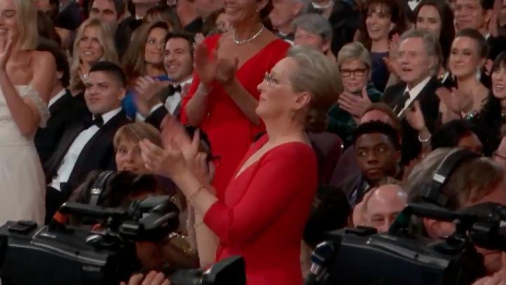 Momento #MeToo en los Oscares: Frances McDormand pide a todas las nominadas ponerse de pie