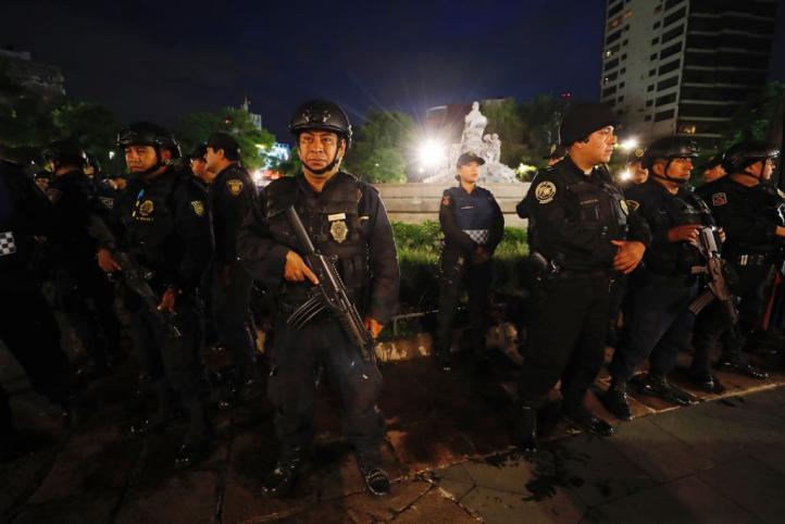 Operativo de seguridad en Roma, Condesa y Polanco