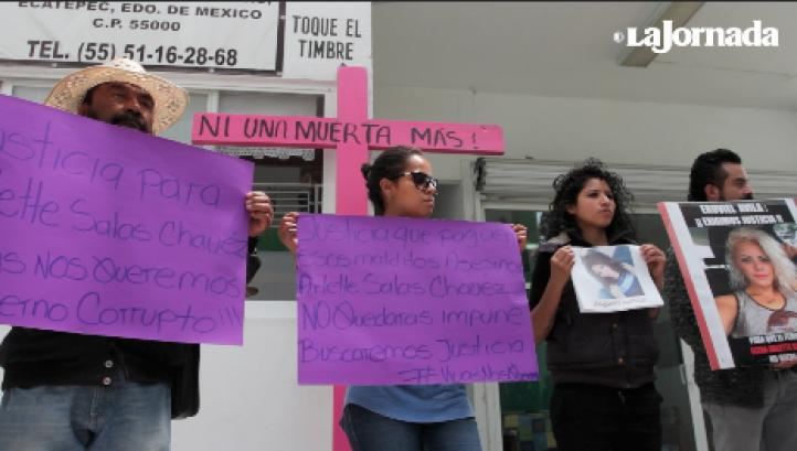 """Amenazan a hermana de Arlette Salas, asesinada en Edomex: """"Si desapareció una, pueden desaparecer dos"""""""