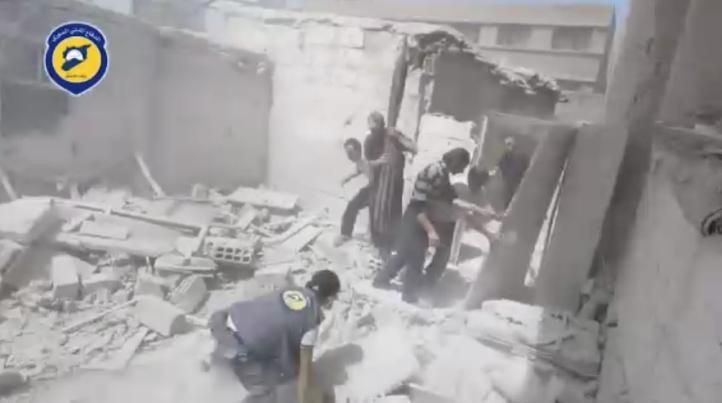 Seis personas mueren durante un ataque en zona rebelde en Damasco