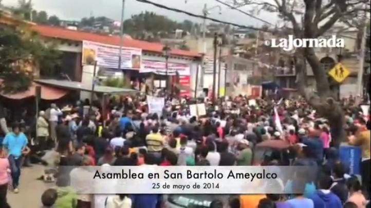 Organizaciones apoyan a San Bartolo Ameyalco; crean Frente Único de Pueblos del Valle de México