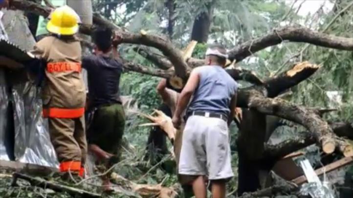 Tifón deja un saldo de 16 muertos en Filipinas