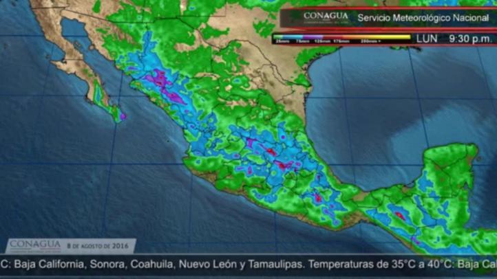 Pronóstico del tiempo para el 8 de agosto, extendido 12 horas
