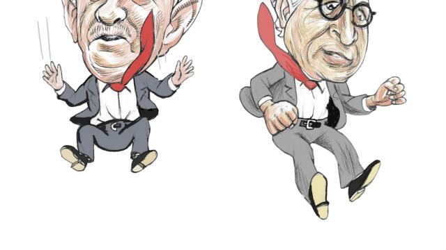Moneros animados: Presuntos presidentes