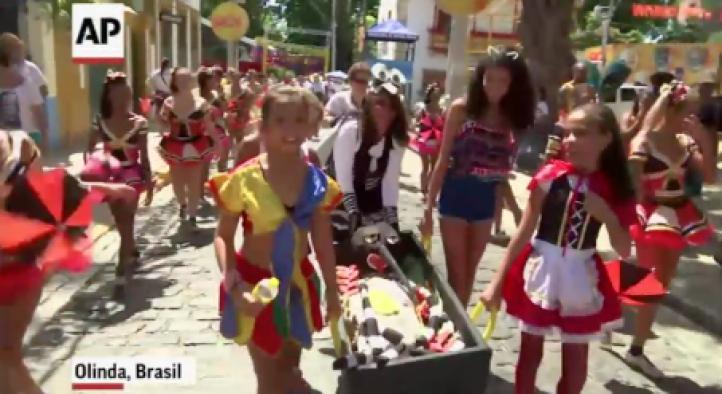 El zika trastoca los carnavales en Brasil