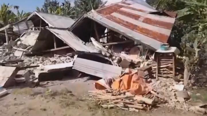Más de 400 muertos por el terremoto en Lombok