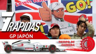 7 Rápidas del GP de Japón