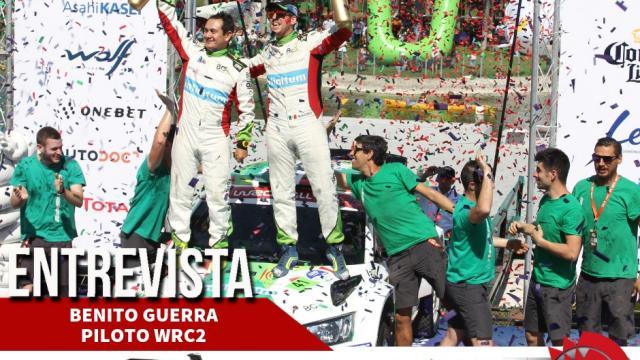 Entrevista con Benito Guerra, ganador de WRC2 en el Rally México