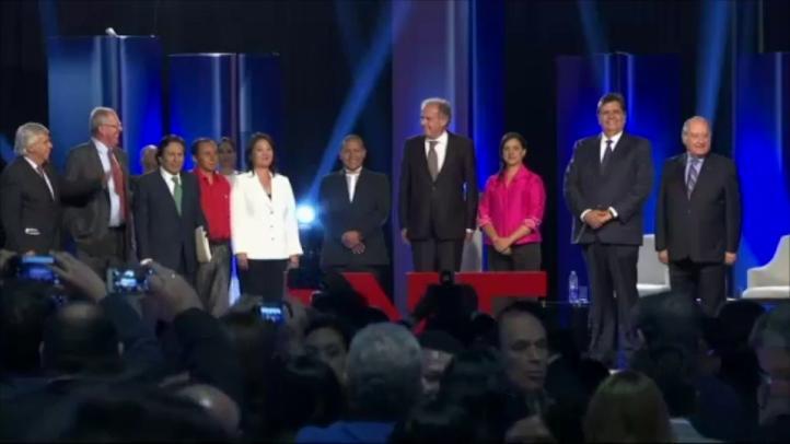Debate de candidatos presidenciales en Perú