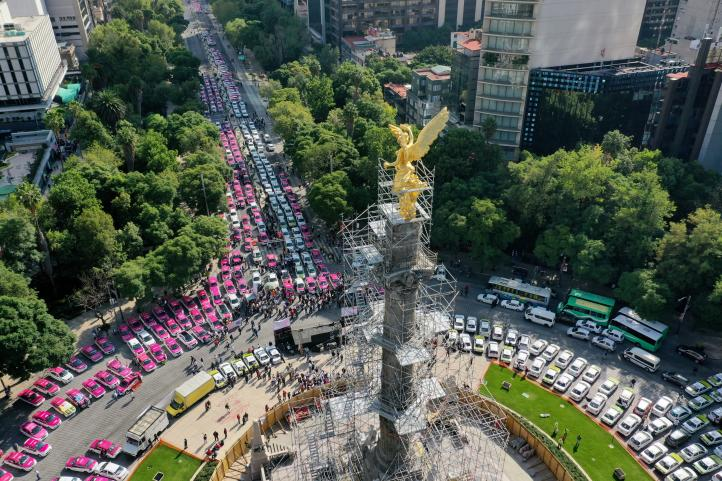 La Ciudad de México colapsó nuevamente.
