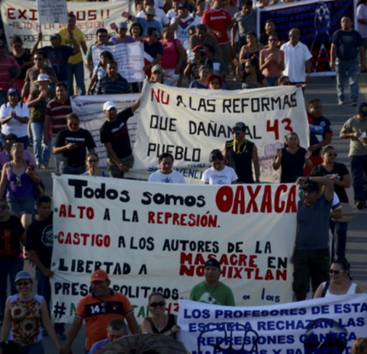Jornada de manifestaciones en Quintana Roo
