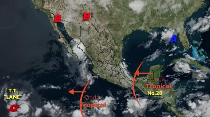 Pronóstico del tiempo para el 16 de agosto de 2018