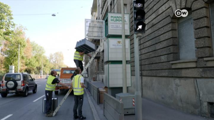 """Implementan en Alemania """"aspiradoras"""" de aire contaminado"""
