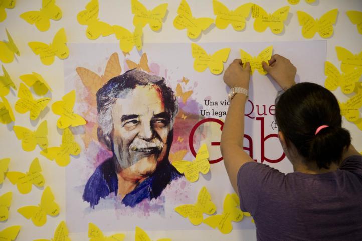 Celebran a Gabo en aniversario de su muerte