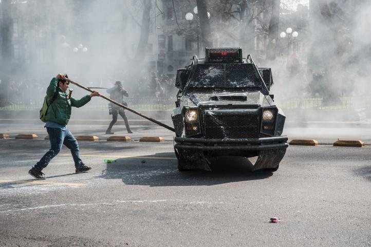 Chile: Se enfrentan policía y estudiantes