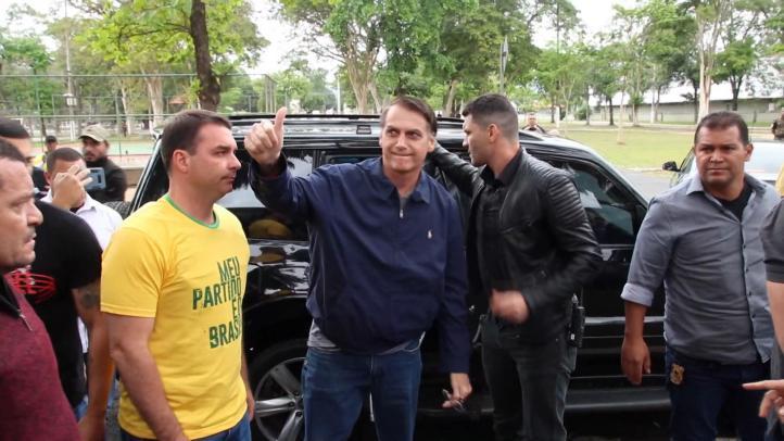 Bolsonaro va a la segunda vuelta para la Presidencia de Brasil