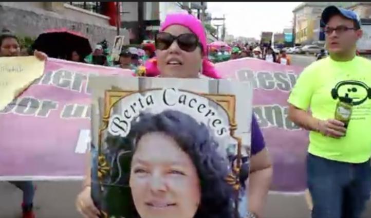 Exigen comisión independiente para investigar asesinato de Berta Cáceres