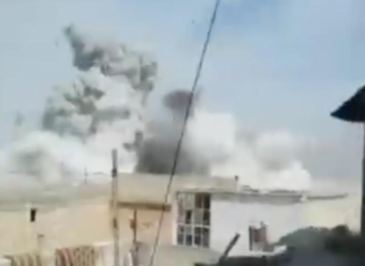 Ataque aéreo en el noreste de Siria