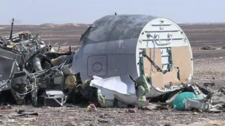 Se refuerza la tesis de atentado en avión ruso