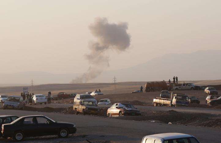 EU inicia ataque a posiciones del Estado Islamico en Irak