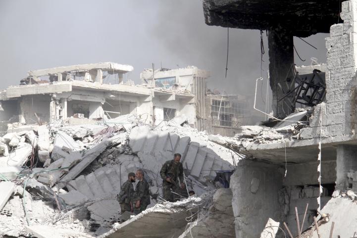Siria: ejército celebra recuperación de Damasco