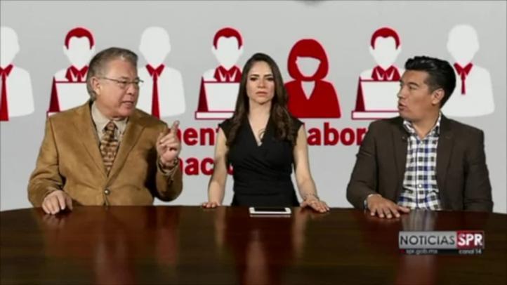 Presentan app de La Jornada/ Realidad Aumentada en el Sistema Público de Radiodifusión del Estado Mexicano.