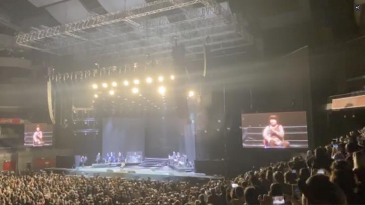 Sabina suspende su concierto en Madrid tras caerse del escenario