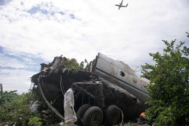 Accidente aéreo provoca la muerte de más de 30 personas en Sudán del Sur