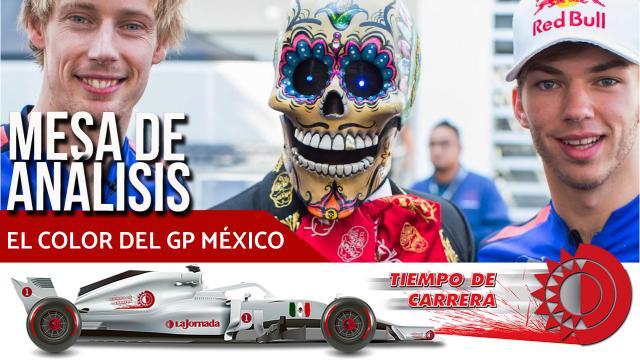El color del Gran Premio de México en Tiempo de Carrera