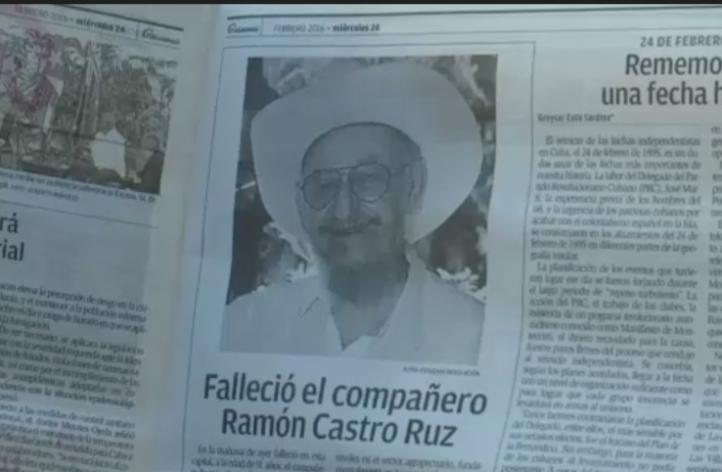 Fallece Ramón Castro, hermano mayor de Fidel y Raúl Castro Ruz