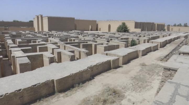 Babilonia reconocida como Patrimonio de la Humanidad por la UNESCO