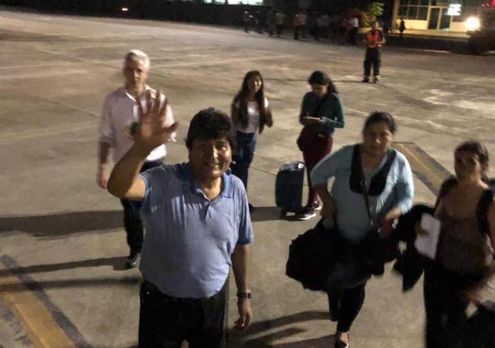Salida de Evo Morales de Bolivia