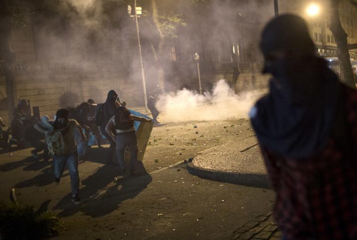 Brasil: Violentos enfrentamientos durante protestas contra Temer