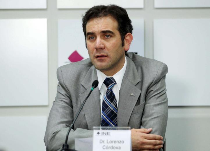Pronunciamiento de el consejero presidente del INE, Lorenzo Córdova