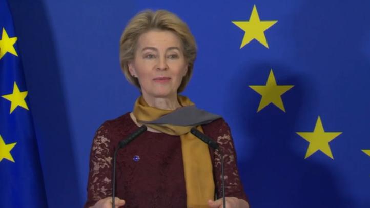 Von der Leyen comienza su mandato en la Comisión Europea