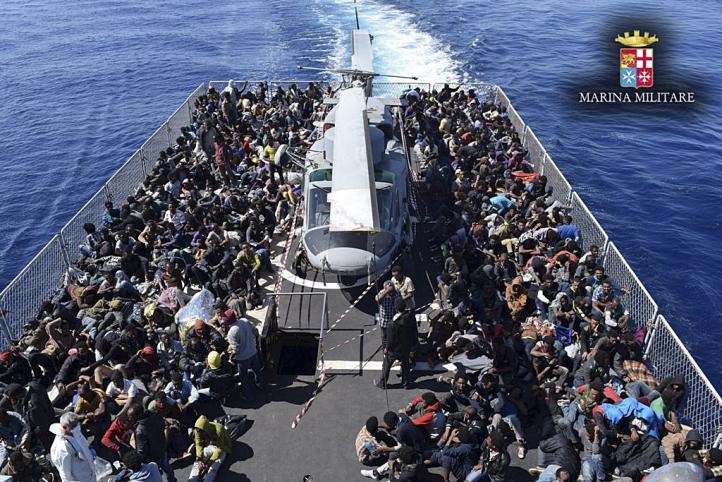 Italia rescata a más de 6 mil migrantes frente a sus costas