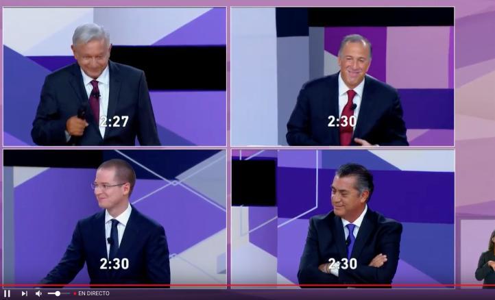 Ataques, mentiras y una cartera, las imágenes del segundo debate